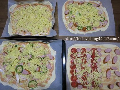 いろいろピザを