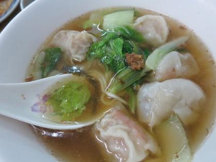 鮮蝦扁食麺