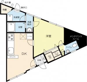 香駅前アパート1階