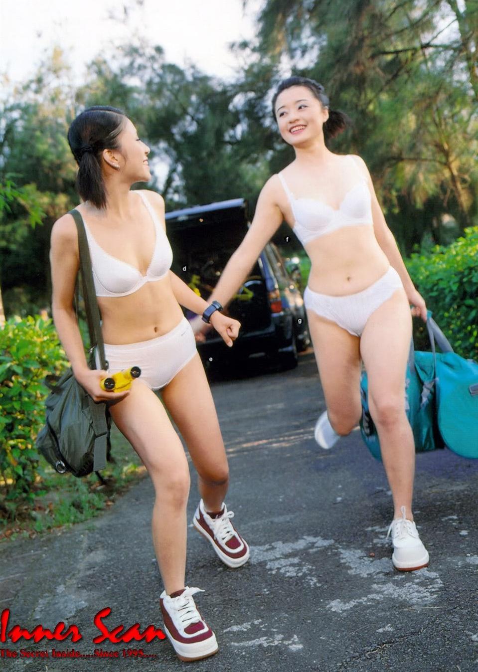 ブラとパンティ エロ'' 中国人 セクシー ランジェリー 下着 ブラジャー パンティー おさげ 高校生 高画質エロかわいい画像144