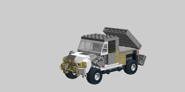 装甲車改造