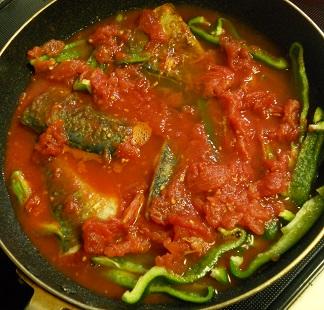 サバのトマト煮8