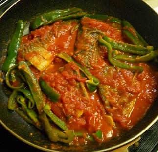 サバのトマト煮9