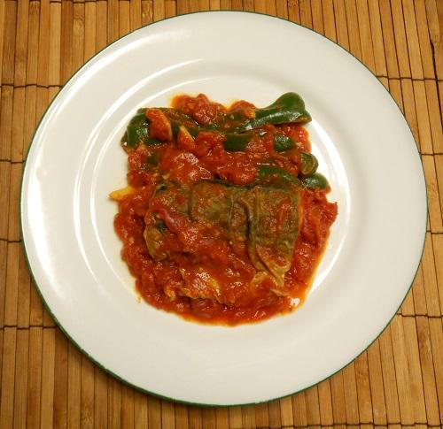 サバのトマト煮10