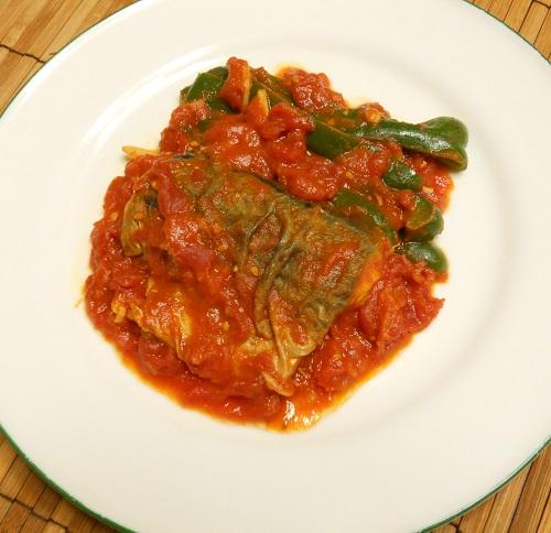 サバのトマト煮11