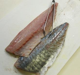 鯵の棒寿司1