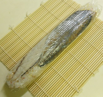 鯵の棒寿司9