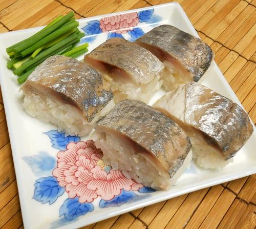 鯵の棒寿司11