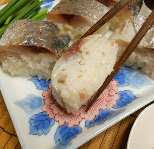 鯵の棒寿司12