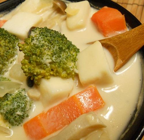 焼き鳥缶とゴボウの炊き込みご飯クリームチーズみそシチュー18