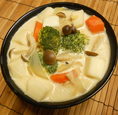 焼き鳥缶とゴボウの炊き込みご飯クリームチーズみそシチュー17