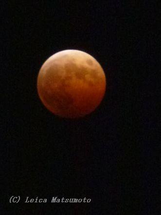 皆既月食2014 4