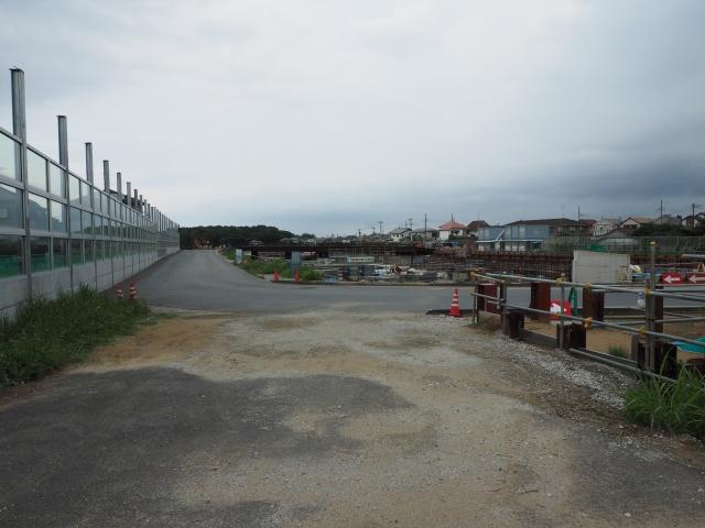 松戸インター付近から湾岸方面。
