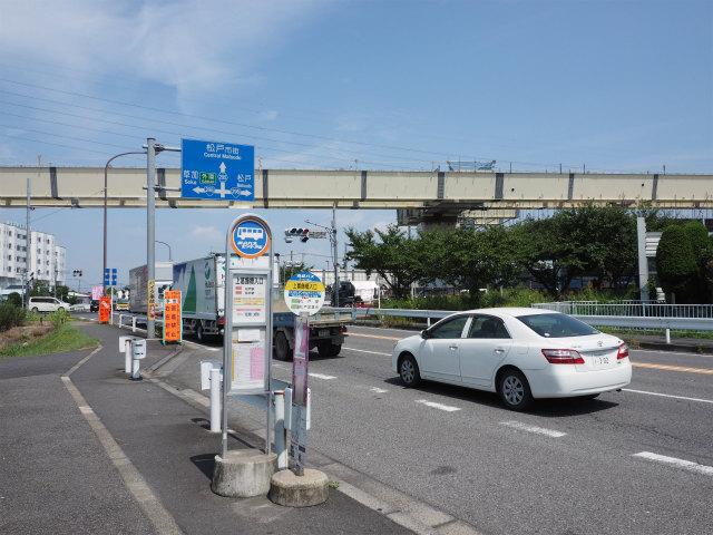 日を改め、外環道の三郷南側から松戸方面へ。
