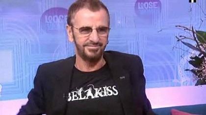 BelakissのTシャツのリンゴ・スター