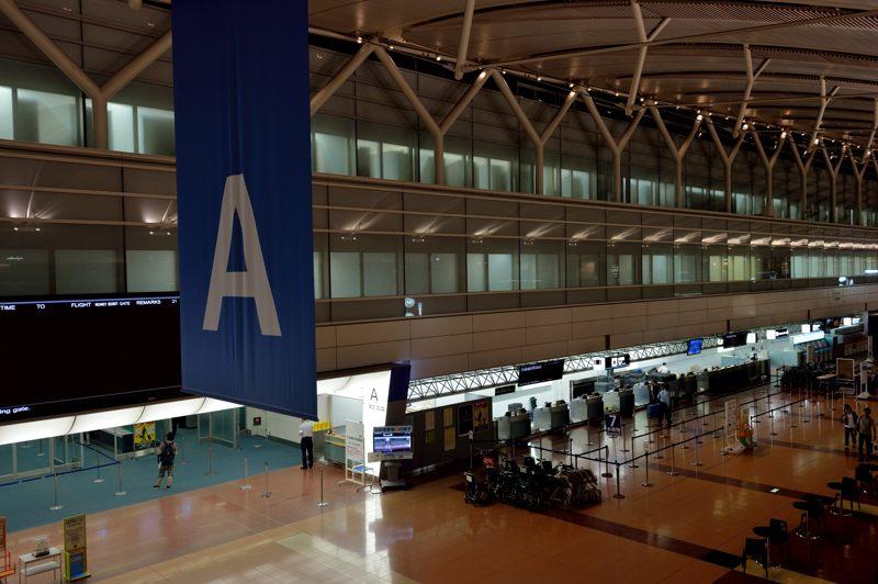 羽田空港 羽田空港第2旅客ターミナルの風景