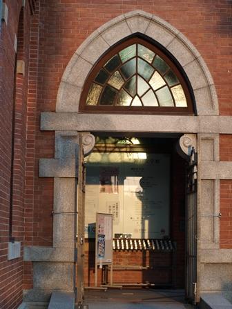 2012.11.8神戸文学館入口
