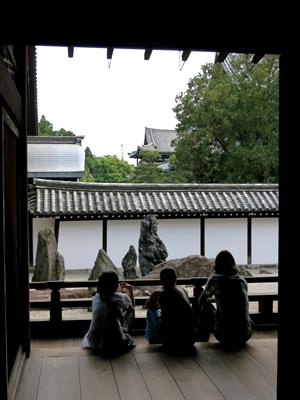 東福寺方丈南庭1406