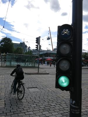 ヘルシンキの自転車1406
