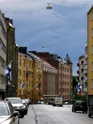 フィンランド旗日1407