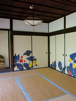 青蓮院門跡襖絵1409