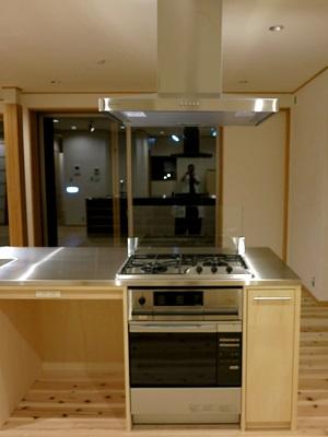 H邸キッチンコンロ1409