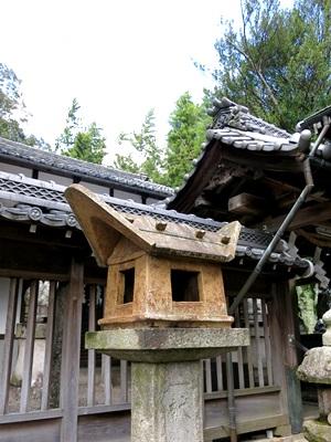 佐土神社灯篭1410
