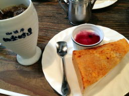 ツナマヨコーントースト、美味しくてあっという間に完食