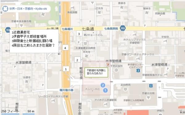地図 不動堂村あたり2