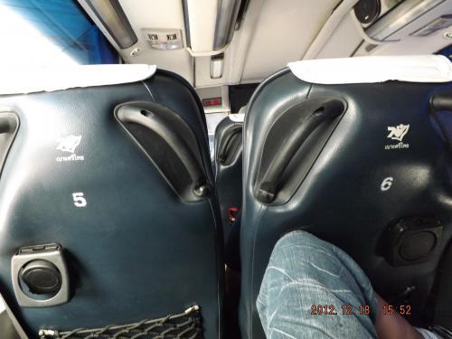 パタヤ行きバス車内 1