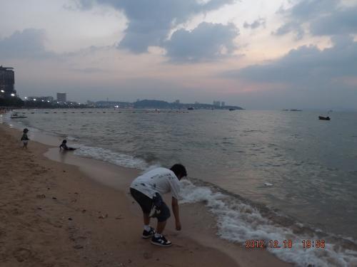 パタヤビーチ 1
