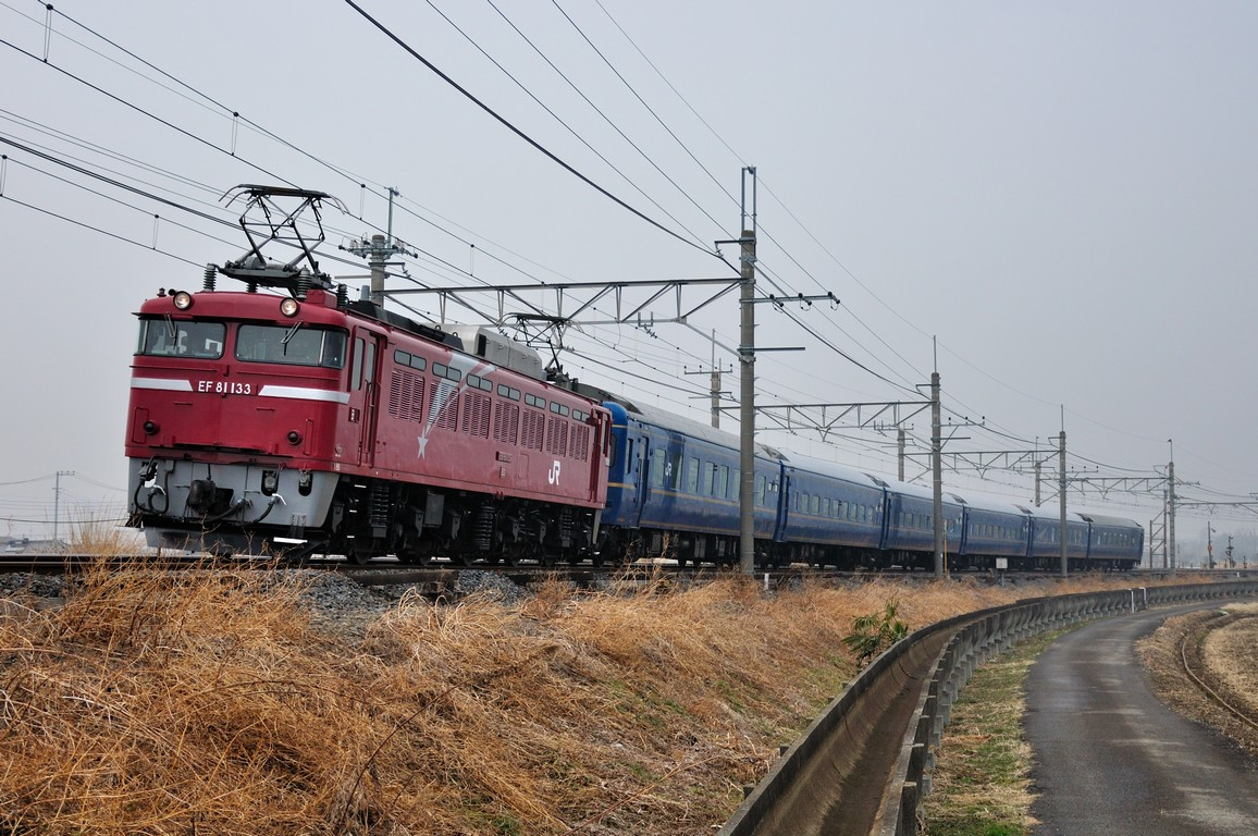 2014.02.27 1554_32(3) 栗橋~東鷲宮 試9502レ EF81 133+24系s1.2