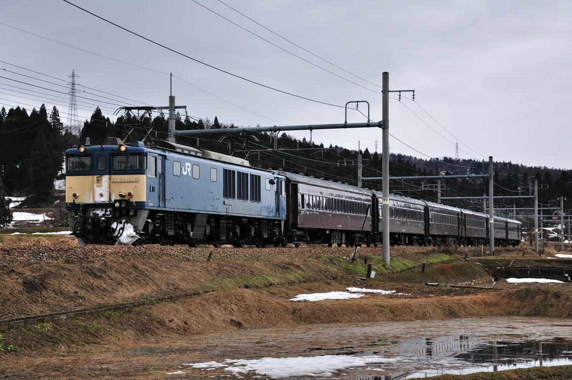 2014.03.21 1445_24(1) 小千谷~越後滝谷 回9733レ EF64-1030+在来形客車s