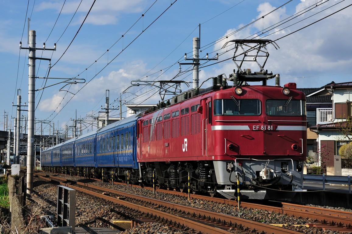 2014.04.06 1603_06(1) 久喜~新白岡 試9502レ EF81 81+24系Ts