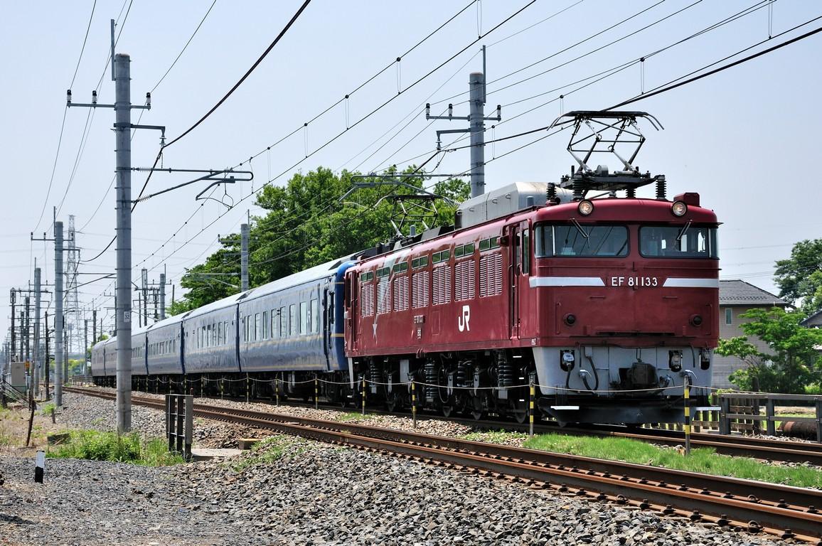 2014.05.24 1118_54(3) 新白岡~久喜 試9501レ EF81 133+24系_01s