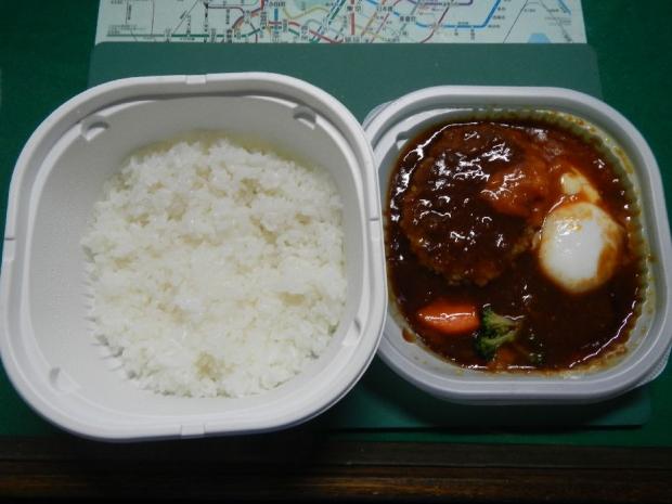 ロコモコ丼@セブンイレブン (2)