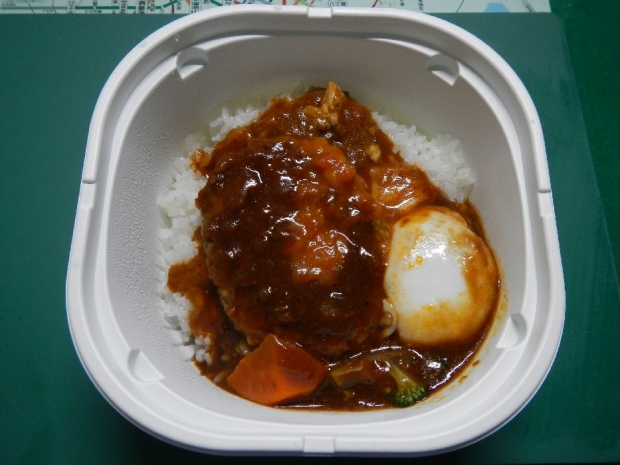 ロコモコ丼@セブンイレブン (3)