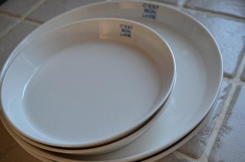 セリア 白皿リメイク