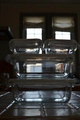 IKEAガラス容器