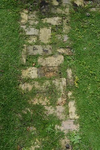 庭ガーデン煉瓦小道