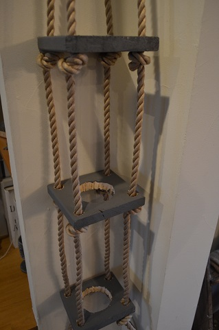 ロープ端材DIY