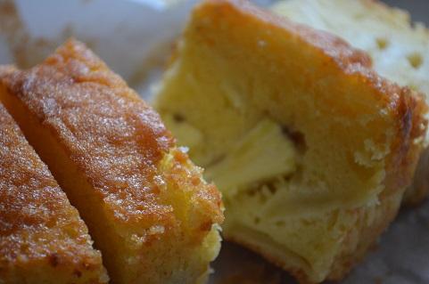 栗とリンゴのパウンドケーキ