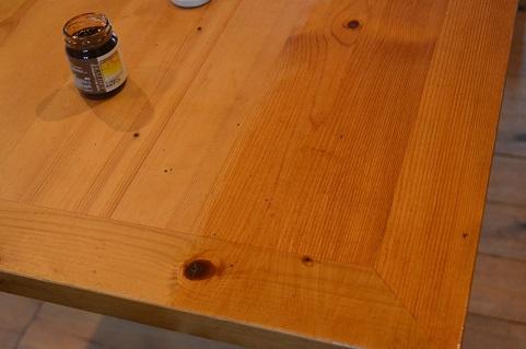 ダイニングテーブルメンテナンス