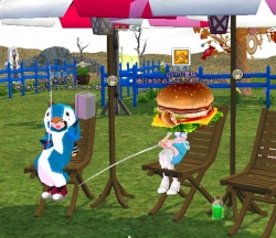 2014-04-27 ハンバーガーとペンギン