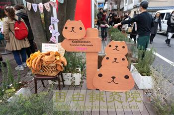 カピバラさんカフェ 限定 代官山 2014春