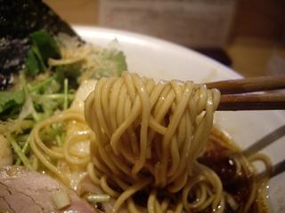 Ginza Noodles むぎとオリーブ 鶏SOBA(麺)