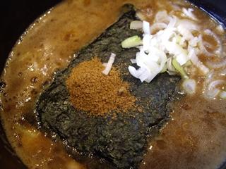 つけめん小半 濃厚つけ麺(大盛)(つけ汁)