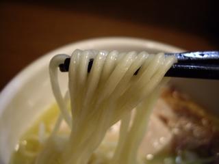らあめん こそっと 鶏白湯らあめん 塩(麺)