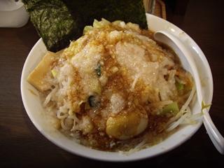 環七背脂系 麺屋ブッチャー ワイルドブッチャー麺