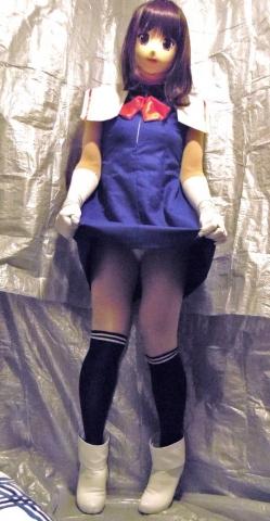 青ドレスア07